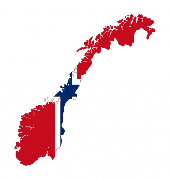 norway-flag-on-country-map